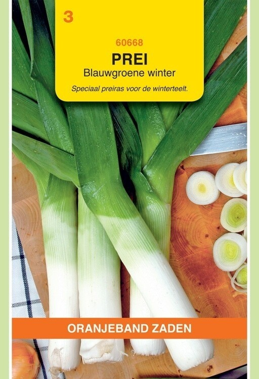 Prei Blauwgroene Winter Oranjeband