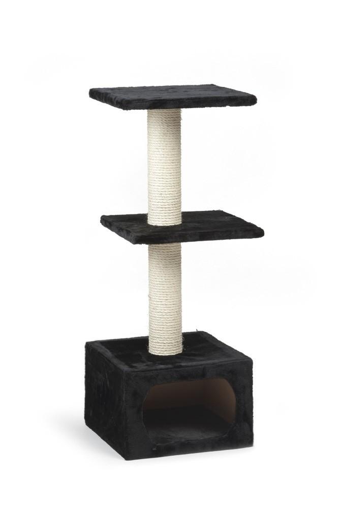 Beeztees krabpaal Dora zwart 38X38X91