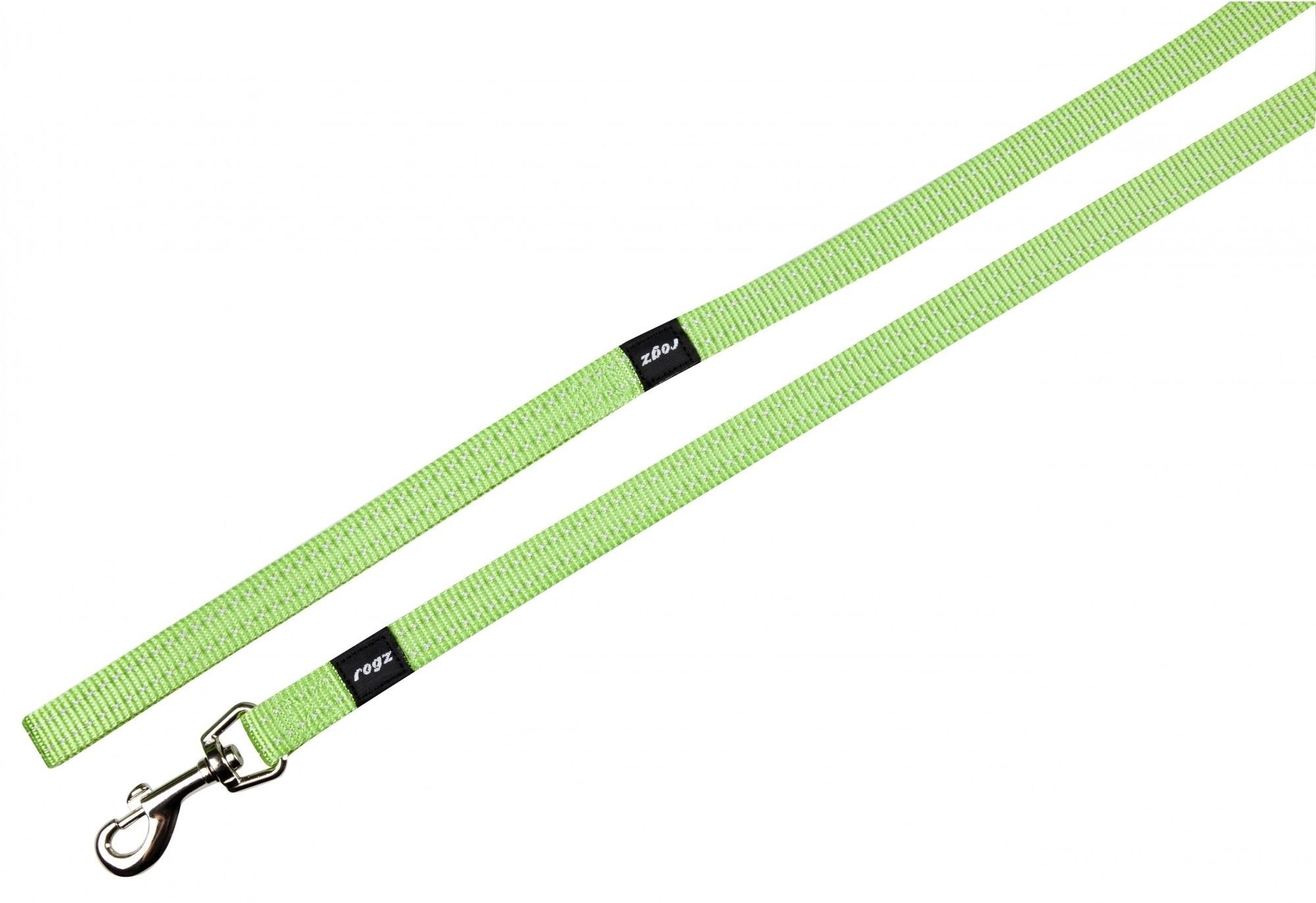 Rogz Snake lijn lime 16mm