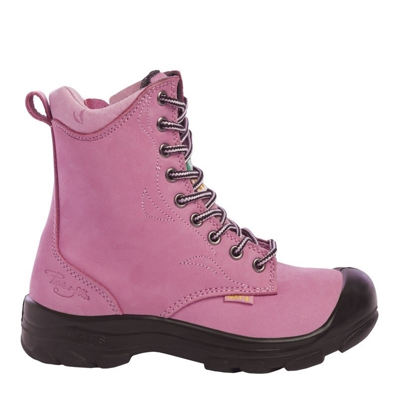 Werkschoenen voor Dames Lady Line Enna roze