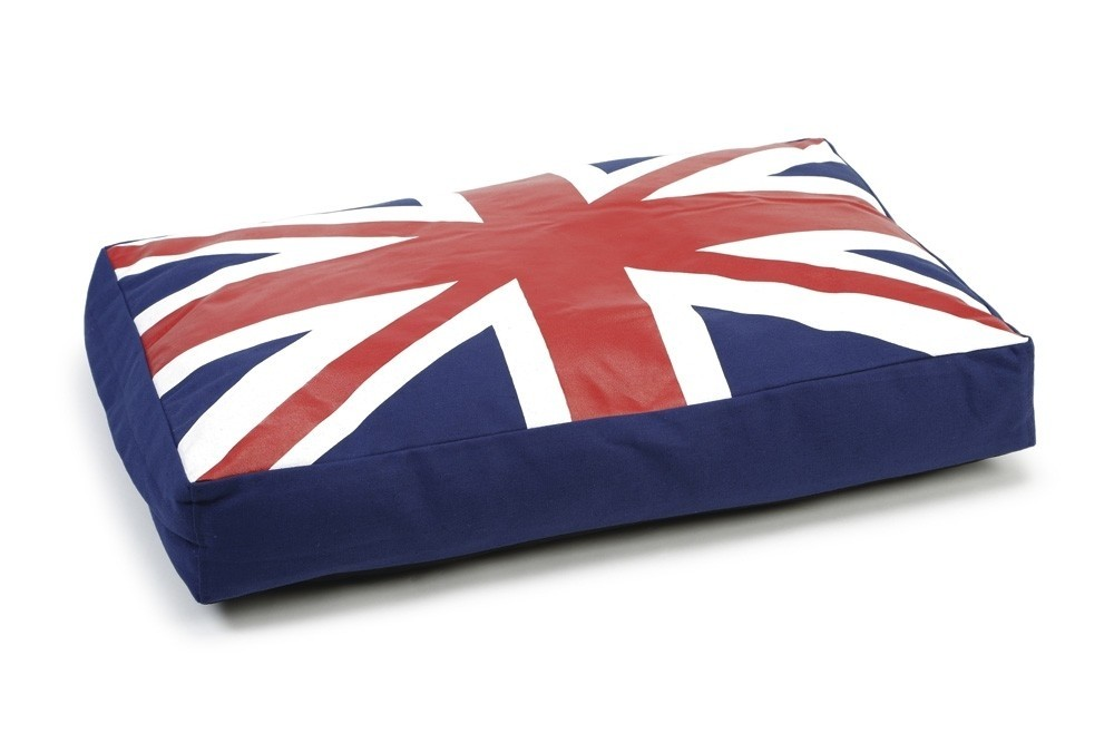 Ligkussen Beeztees Union Jack 70X45X10
