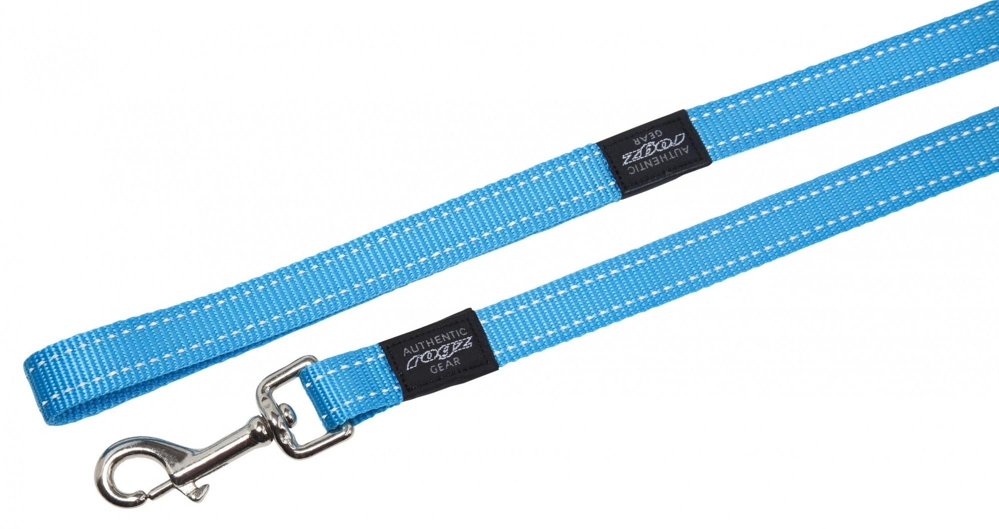 Rogz Fanbelt lijn turquoise 20mm