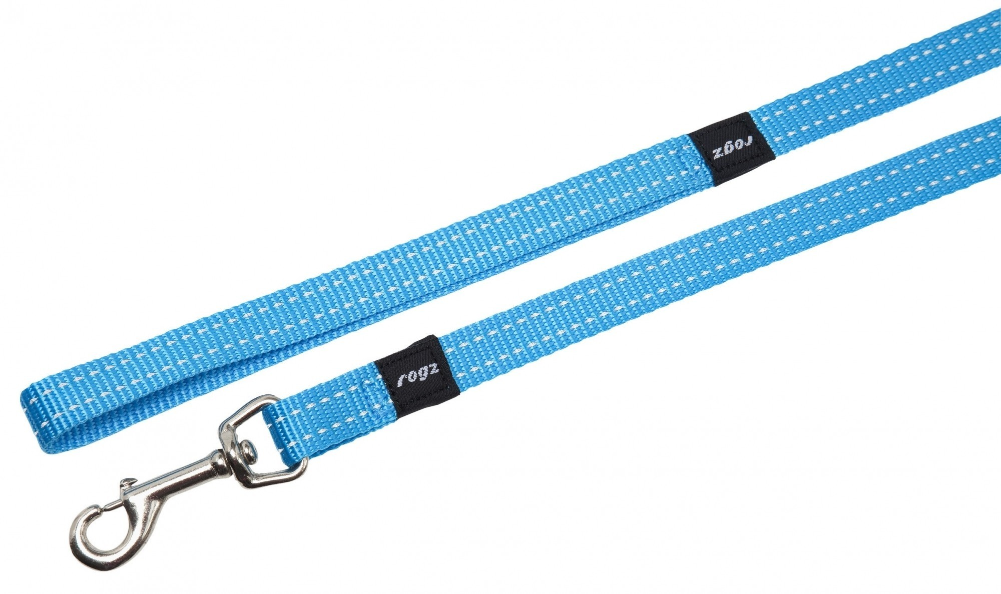 Rogz Snake lijn turquoise 16mm