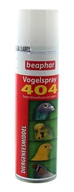 Vogelspray 404 bloedluis/insecten 500ml