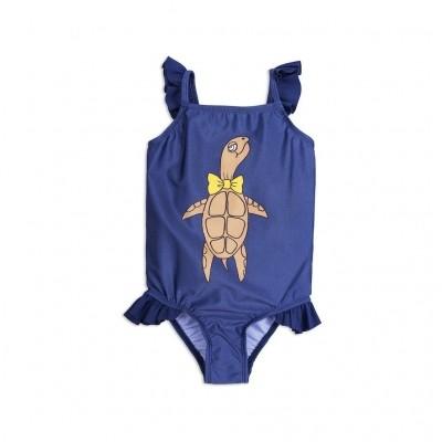 Foto van Mini rodini baby girl turtle swimsuit