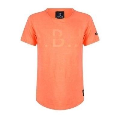 Indian blue jeans boys shirt bright orange