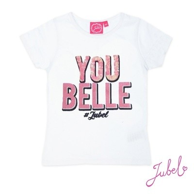 Jubel T-shirt You Belle White