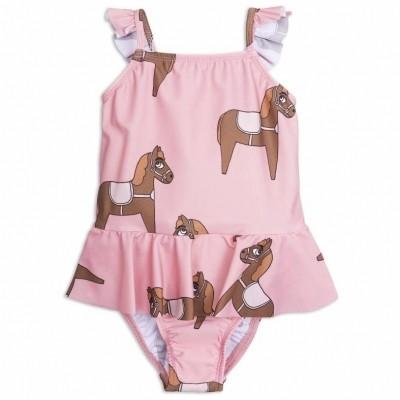 Foto van Mini Rodini Mini Rodini Horse Skirt Swimsuit
