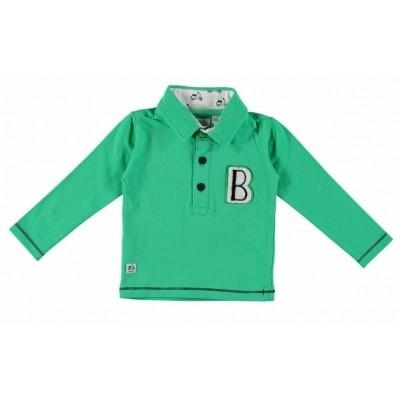 Bampidano baby boy polo green