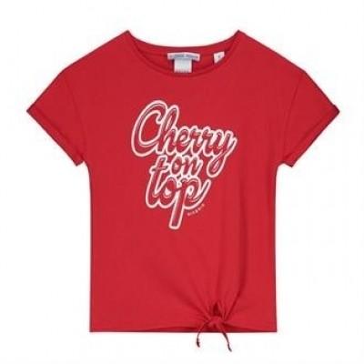 Foto van Nik & Nik Girls Loren T-shirt Poppy red