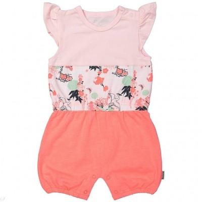 Bess newborn jumpsuit colorblock