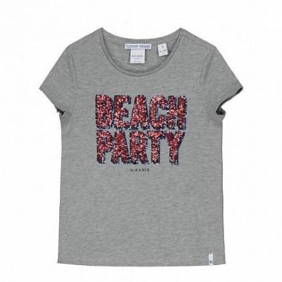 Foto van Nik & Nik Girls Lillian T-shirt Grey