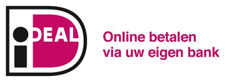 Logo van betaalmogelijkheid iDeal