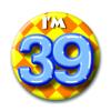 Afbeelding van Button 39 jaar