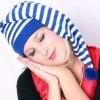 Afbeelding van Slaapmuts blauw/wit