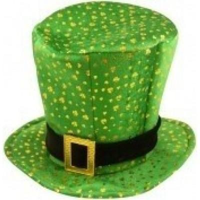 Foto van St. Patrick's day stoffen hoed