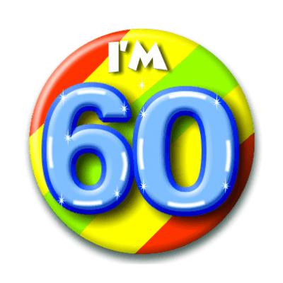 Foto van Button 60 jaar