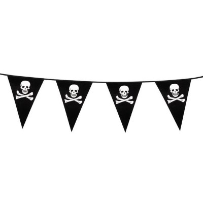 Foto van PE vlaggenlijn Piraat (6 m)