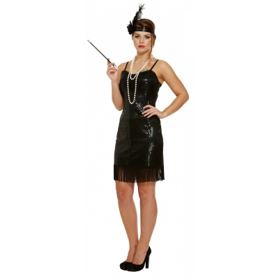 Foto van Great gatsby jurkje zwart
