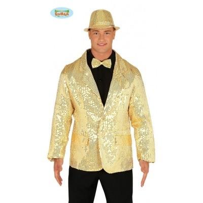 Gouden pailletten jasje