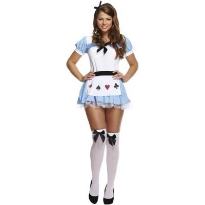 Foto van Alice in Wonderland jurkje
