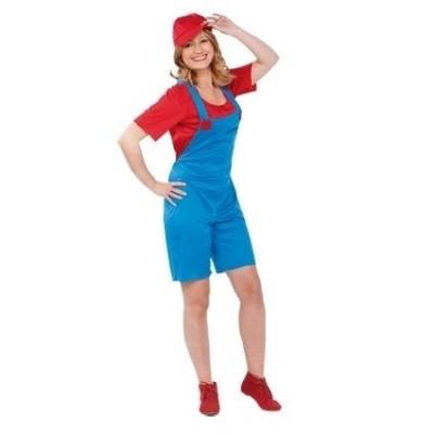 Foto van Mario dame volwassen maat