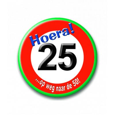 Foto van Button Verkeersbord 25 Jaar