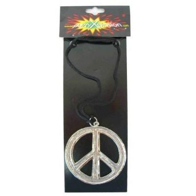 Foto van Peace ketting metaal pbh