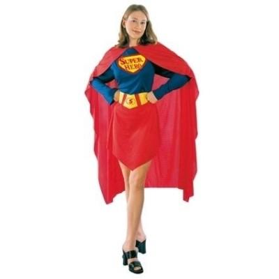 Foto van Superheldin volwassen maat
