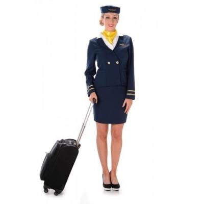 Foto van Stewardessen kostuum