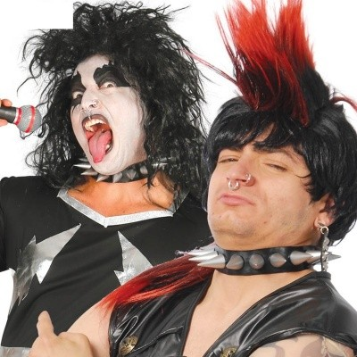 Punk Spike Halsband