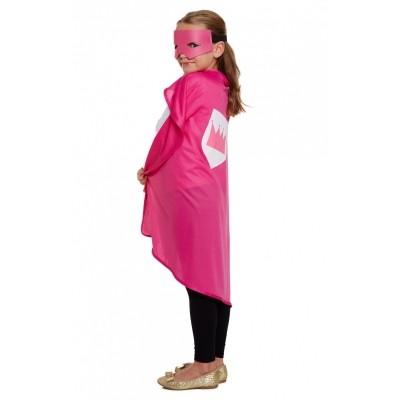 Foto van Cape superheld roze kind