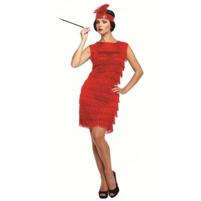Foto van Great Gatsby jurkje rood