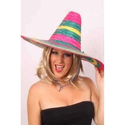 Foto van Sombrero mexico multi (one size)