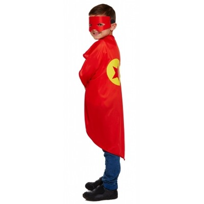 Foto van Cape superheld rood kind