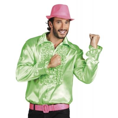Foto van Disco overhemd Groen
