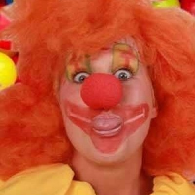 Foto van Schuimneus clown rood per stuk in zb