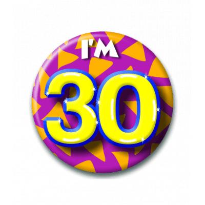 Foto van Button 30 jaar