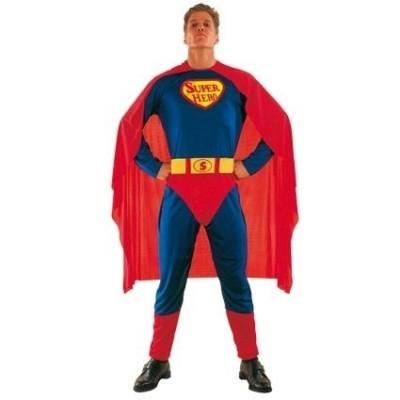 Foto van Superman pak volwassenen