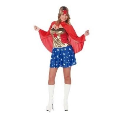 Wonder woman jurkje volwasssen kostuum