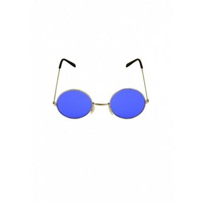 Foto van Hippie bril blauw