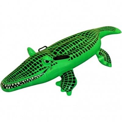 Foto van Opblaas Krokodil 150 cm