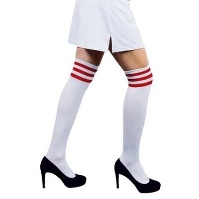 Foto van Cheerleader sokken wit