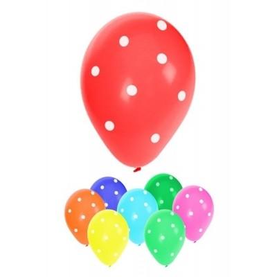 Ballonnen witte stippen