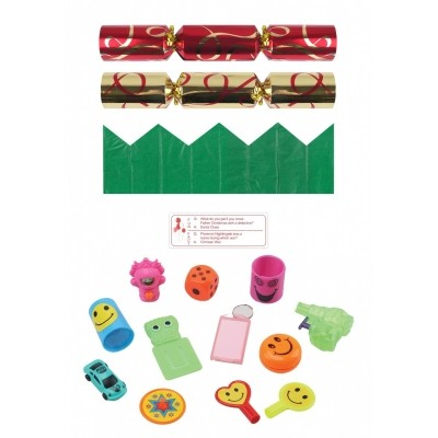 Foto van Christmas crackers