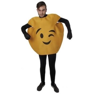 Foto van Emoticon kostuum knipoog