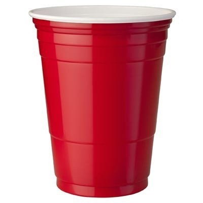 Red cups 473 ml (25 st.)