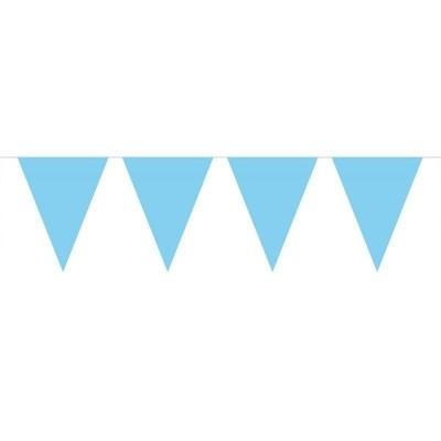 Foto van Mini Vlaggenlijn Baby Blauw /3mtr