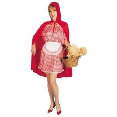 Foto van Roodkapje kostuum volwassen