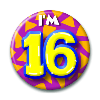 Button 16 jaar